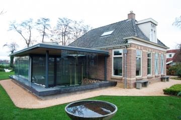 Kerstemeijerarchitecten - Uitbreiding huis glas ...